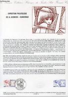 DOCUMENT PHILATELIQUE OFFICIEL N°12-84 - EXPOSITION PHILATELIQUE DE LA JEUNESSE - DUNKERQUE (N°2308 YVERT ET TELLIER) - - Lettres & Documents