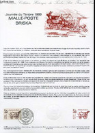 DOCUMENT PHILATELIQUE OFFICIEL N°14-86 - JOURNEE DU TIMBRE 1986 - MALLE-POSTE BRISKA (N°241 YVERT ET TELLIER) - DURRENS - Lettres & Documents