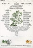 DOCUMENT PHILATELIQUE OFFICIEL N°14-89 - FORET DE FONTAINEBLEAU (N°2579-83 YVERT ET TELLIER) - ALBUISSON - 1989 - Lettres & Documents