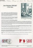 DOCUMENT PHILATELIQUE OFFICIEL N°12-89 - JEAN-BAPTISTE DROUET (N°2569 YVERT ET TELLIER) - FORGET P. - 1989 - Lettres & Documents