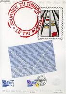 DOCUMENT PHILATELIQUE OFFICIEL N°12-91 - JOURNEE DU TIMBRE - LE TRI POSTAL (N°2688 YVERT ET TELLIER) - CAMBOLIN P. - 199 - Lettres & Documents