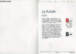 DOCUMENT PHILATELIQUE OFFICIEL N°11-91 - JEUX OLYMPIQUES - LA PLAGNE - LUGE (N°2679 YVERT ET TELLIER) - BEQUET PIERRE - - Lettres & Documents