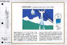 FEUILLET ARTISTIQUE PHILATELIQUE - CEF - N° 868 - GRENOBLE : 6° CONGRES INTERNATIONALE DES TRANSPORTS A CABLES - COLLECT - Lettres & Documents