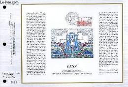FEUILLET ARTISTIQUE PHILATELIQUE - CEF - N° 865 - LENS 6 CONGRES NATIONAL DES SOCIETES PHILATELIQUES DE FRANCE - COLLECT - Lettres & Documents