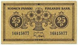 Finland - 25 Penniä - 1918 - Pick: 33 - Suomi Penni - Finland
