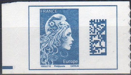 2018 / RARE......le Timbre Bleu De Carnet Marianne L'engagée  N° 1603A - VARIETE - NEUF DE CARNET - 2018-... Marianne L'Engagée