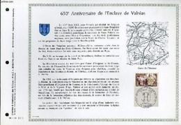 FEUILLET ARTISTIQUE PHILATELIQUE - PAC - 68 - 14 - 50° ANNIVERSAIRE DE L'ENCLAVE DE VALREAS - COLLECTIF - 1968 - Lettres & Documents