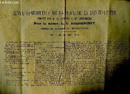 Revue Bi-mensuelle De La Place De Point-à-Pitre, 15 Au 30 Juin 1905, Rédigée Pour Le Maison L.E. Arensdorff. Commission, - Non Classificati