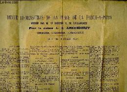 Revue Bi-mensuelle De La Place De Point-à-Pitre, Du 1er Au 10 Juillet 1905 , Rédigée Pour Le Maison L.E. Arensdorff. Com - Non Classificati