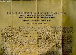 Revue Bi-mensuelle De La Place De Point-à-Pitre, Du 11 Au 23 Juillet 1905, Rédigée Pour La Maison L.E. Arensdorff. Commi - Non Classificati