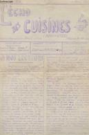 L'ECHO DES CUISINES ( ROULANTES).1ERE ANNEE. N°2. 15 AVRIL 1916. A NOS LECTEURS. LES BAGUES DES POILUS. NOUVEAU CONFRERE - Altre Riviste