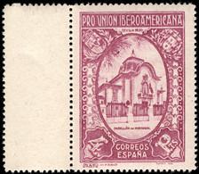 1930.MNH.Ed:**578.Iberoaméricana.4 Pts Violeta.Margen De Hoja - 1931-50 Ungebraucht