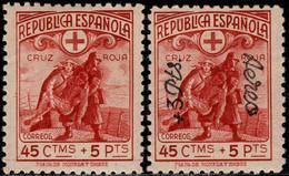 1938.MH.Ed:*767/768.Cruz Roja.Correo Aéreo Y Terrestre - 1931-50 Ungebraucht