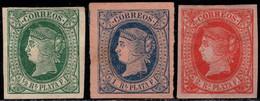 1864.Antillas-Excolonia Española.MH.MNG.Ed:*/(*)10/12.Isabel II.Serie Completa - Ohne Zuordnung