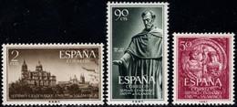 1953.MH.Ed:*1126/1128.Universidad Salamanca.Serie Completa - 1951-60 Ungebraucht