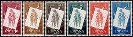 1956.MNH.Ed:**1200/1205.Proinfancia Húngara.Serie Completa - 1951-60 Ungebraucht