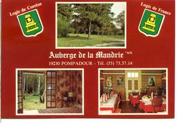19230 POMPADOUR - Lot De 2 CPM - Voir Détails Dans La Description - Sonstige Gemeinden