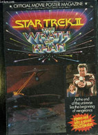 OFFICIAL MOVIE POSTER MAGAZINE. STAR TREK II YHE WRATH OF KHAN... - COLLECTIF. - 1982 - Other