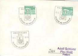DDR Beleg Mit Sonderstempel Heidenau 30 Jahre AG Philatelie 1981 - Poststempel - Freistempel