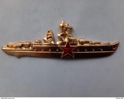 Sign. Commander Of The Soviet Navy Ship. - Navy
