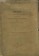 NIORT - SES RUES, SES PLACES, SES MONUMENTS - NOTES HISTORIQUES ET DESCRIPTIVES + PLAN DE LA VILLE - COLLECTIF - 1869 - Poitou-Charentes