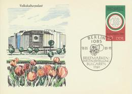 DDR Ganzsache P101 O Sonderstempel - Postkarten - Gebraucht