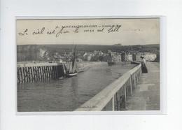 DEP. 76 SAINT-VALERY-EN-CAUX L'ENTREE DU PORT - Saint Valery En Caux