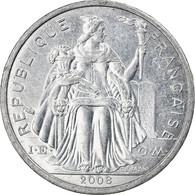 Monnaie, Nouvelle-Calédonie, 2 Francs, 2008, Paris, TTB, Aluminium, KM:14 - New Caledonia