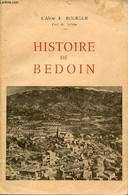 HISTOIRE DE BEDOIN - BOURGUE E. L'ABBE - 1965 - Godsdienst