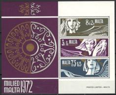 Malta 1972. Mi Block 2, Postfrisch**, MNH - Malta