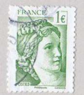FRANCE 2017 TIMBRE ISSU DU BLOC 5179  71e Salon Philatélique D'automne - 40 Ans De La Sabine De Gandon  OBLITERE - Used Stamps