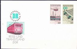 DDR GDR RDA - Umschlag  Eisenbahnwesen (MiNr: U 3) 1985 - Siehe Scan - Umschläge - Ungebraucht