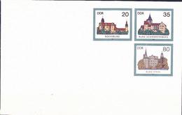 DDR GDR RDA - Umschlag  Burgen 2 (MiNr: U 2) 1985 - Siehe Scan - Umschläge - Ungebraucht