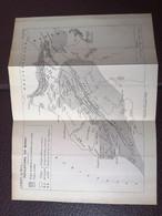 Maroc: Carte De 1920 Par Victor Piquet «Population Du Maroc» - Carte Geographique