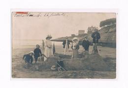 17 PONTAILLAC 1908 CARTE PHOTO  CHATEAU DE SABLE - Royan