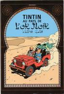 CPM - TINTIN AU PAYS DE L'OR NOIR - Les Aventures De TINTIN - Scans Recto/verso - BE - Stripverhalen