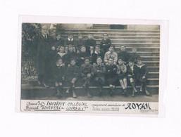 17 ROYAN 1917-1918 INSTITUT COLLEGIAL FOHRWERK COURS DE 6 ème - Royan