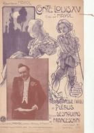 (MARS ) Illustrateur POUSTHOMIS ,conte Louis Xv , MAYOL ; Musique DESMOULINS & FRANCESCHINI , Paroles PLEBUS - Partituras