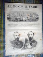 LE MONDE ILLUSTRE 28/09/1872 AFRIQUE ZANZIBAR SAINT CLOUD DINARD BAINS DE MER BELGIQUE COURSE CHIENS BRUXELLES PARIS PYG - 1850 - 1899