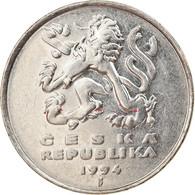 Monnaie, République Tchèque, 5 Korun, 1994, TB+, Nickel Plated Steel, KM:8 - Czech Republic
