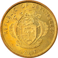Monnaie, Seychelles, 5 Cents, 2007, Pobjoy Mint, TB+, Brass Plated Steel, KM:47a - Seychelles