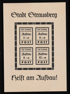 Strausberg Wiederaufbaublock, ** - Sin Clasificación