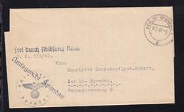 Berlin OSt. BERLIN-SPANDAU 1 G 9.7.42 Auf Dienstbrief Des Amtsgericht Spandau  - Sin Clasificación