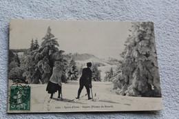 Plateau Du Revard, Sports D'hiver, Skieurs, Savoie 73 - Other Municipalities