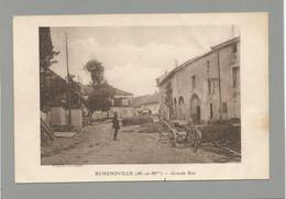 54 REMENOVILLE / Grande Rue. - Other Municipalities