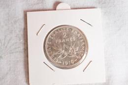 2 Francs Argent   1916 - I. 2 Franchi