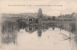Rare Cpa Ballancourt Saint-Blaise Le Marais Chantereau - Ballancourt Sur Essonne