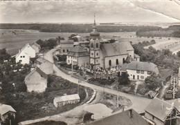 Rare Cpsm En Avion Au Dessus De Hilsprich L'église - Andere Gemeenten