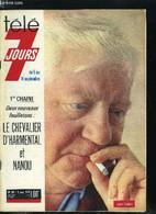 Télé 7 Jours N° 541 - Françoise Hardy : Shopping Chez Les Bouquinistes, Vedette Mystère De Nanou Claude Mandonnaud, Enri - Other