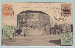 Tournai, Boulers, Zeldzaam Document Met Bezetting Zegel En Uitgifte Koning Albert I, Uit Forges De Chimay In 1919 - Tournai